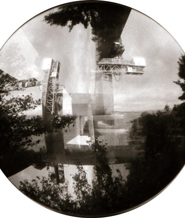 Tay Bridge Double Fisheye Exposure