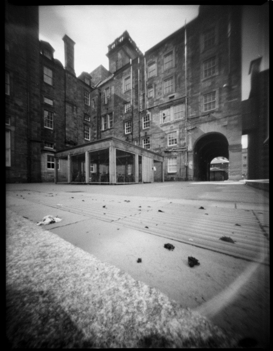 Old surgeons hall - Edinburgh